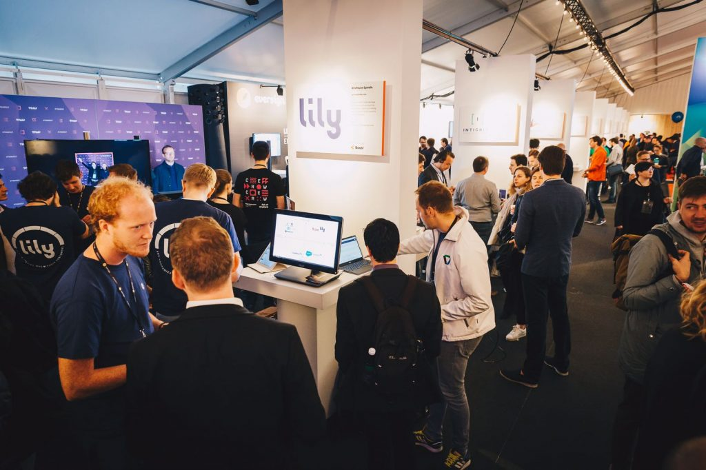 De Lily stand op The Next Web